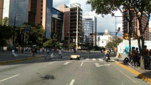 Venezuela paro oposición