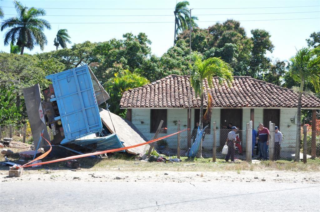 accidente, tránsito, Sancti Spíritus