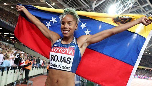 Atletismo, triple salto, Venezuela, Londres, Mundial