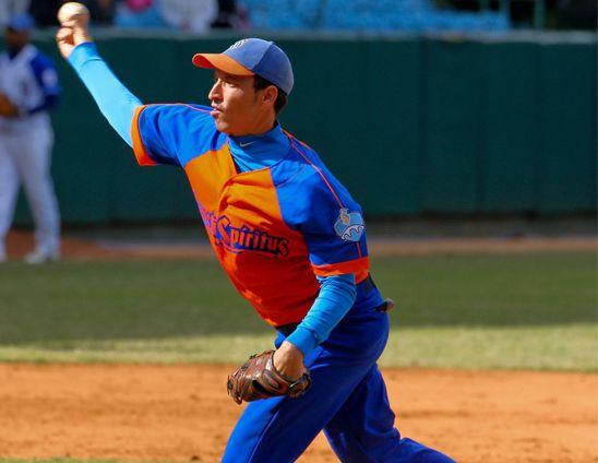 Béisbol, Cuba, Sancti Spíritus, Yoen Socarrás