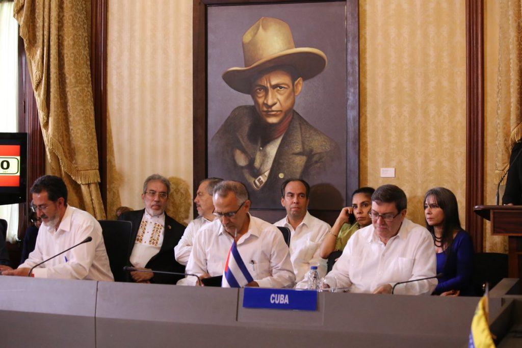 Cuba, Venezuela, ALBA, Constituyente, EE.UU.