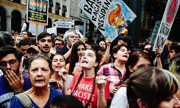 EE.UU., Donald Trump, Nueva York, protestas
