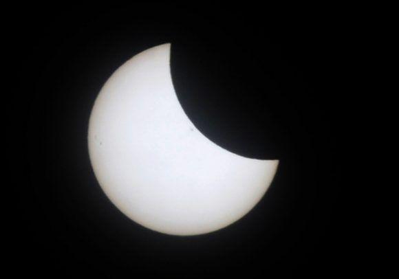 eclipse, sol Cuba, La Habana