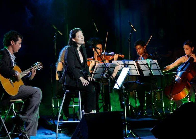 Elaine de Valero, música, Sancti Spíritus