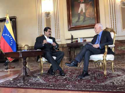 Venezuela, Nicolas Maduro, José Vicente Rangel