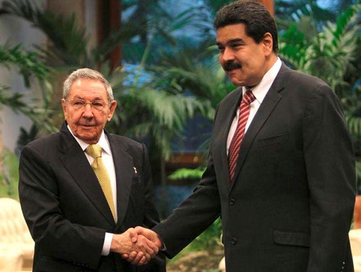 cuba, venezuela, raul castro, nicolas maduro, asamblea nacional constituyente