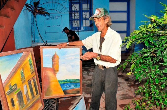 escambray, pintor espirituano, academia de bellas artes, casa de la cultura sancti spiritus, uneac