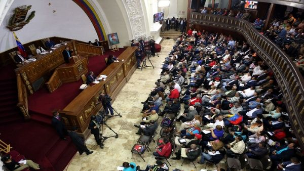 Venezuela, Constituyente, Estados Unidos