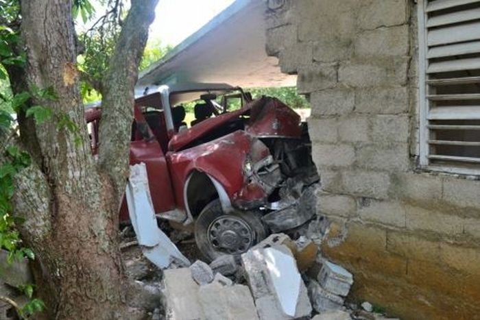 sancti spiritus, yaguajay, accidente de transito
