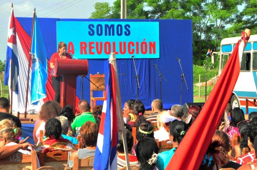 sancti spiritus, federacion de mujeres cubanas, la sieroe, fmc