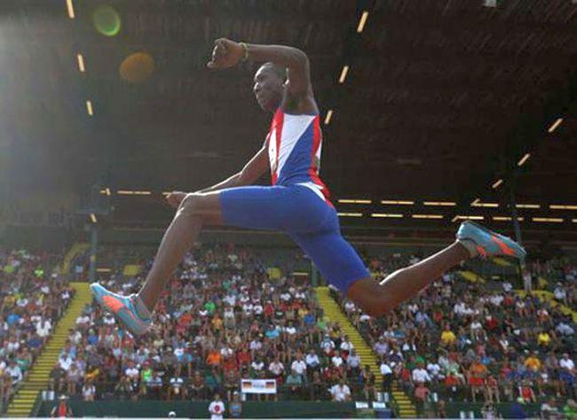 Atletismo, Mundial, Londres, Cuba Triple salto