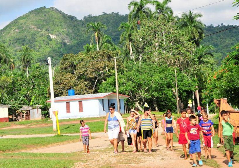 sancti spiritus, campamentos de verano, verano, etapa estival, campamento de pioneros exploradores