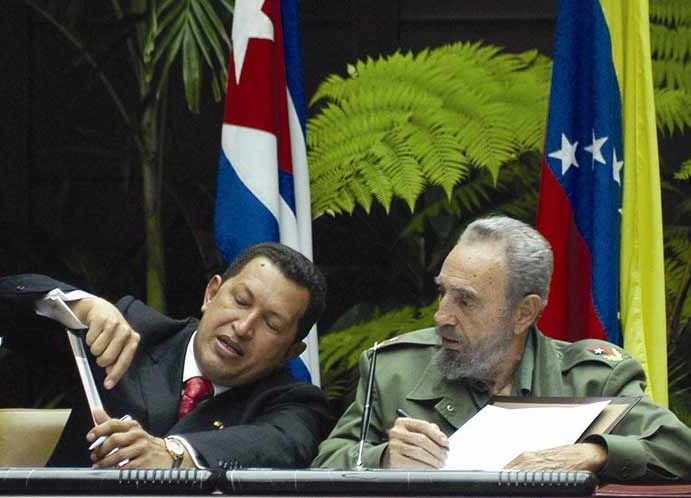cuba, venezuela, hugo chavez, fidel castro, oftalmologia, operacion milagro