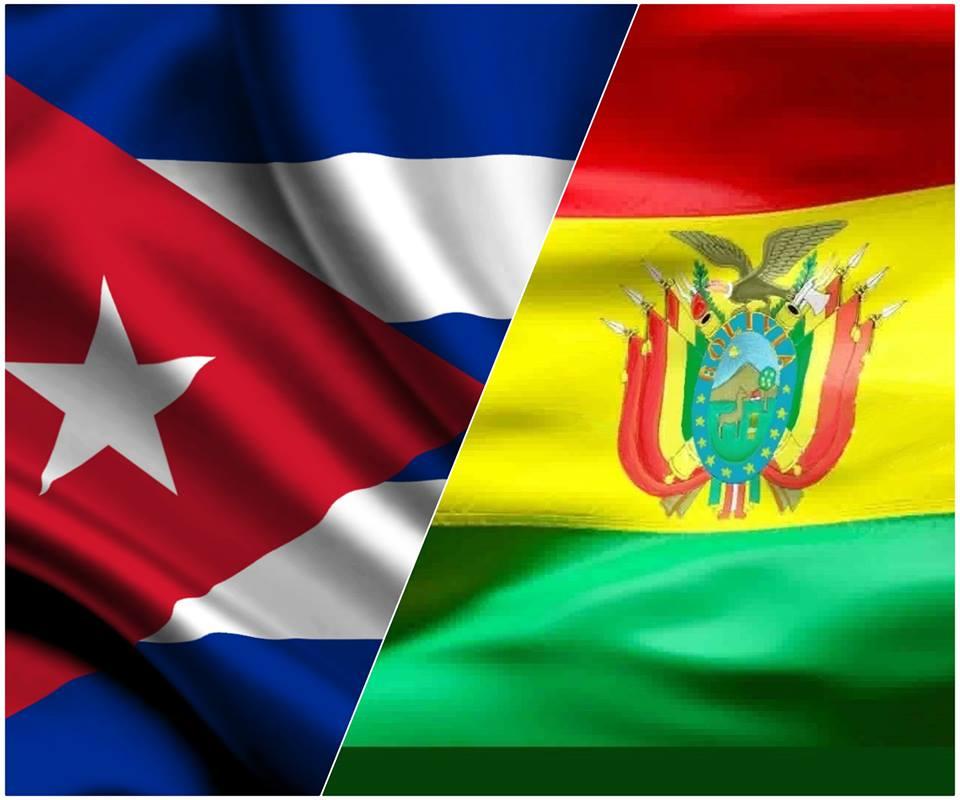 Cuba, Bolivia, cooperación