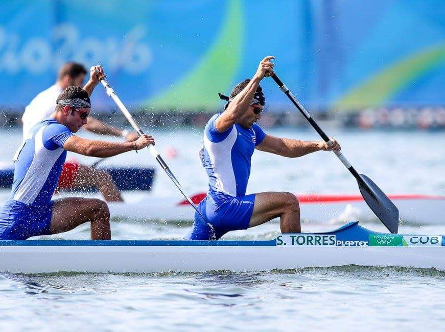 Serguey Torres, canotaje, mundial