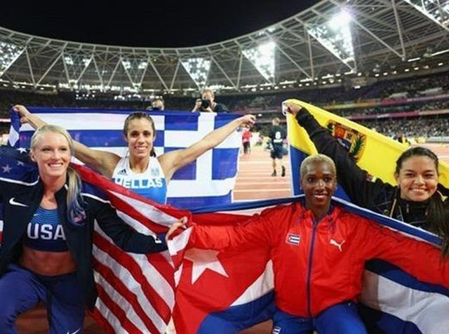 cuba, atletismo, campeonato mundial de atletismo