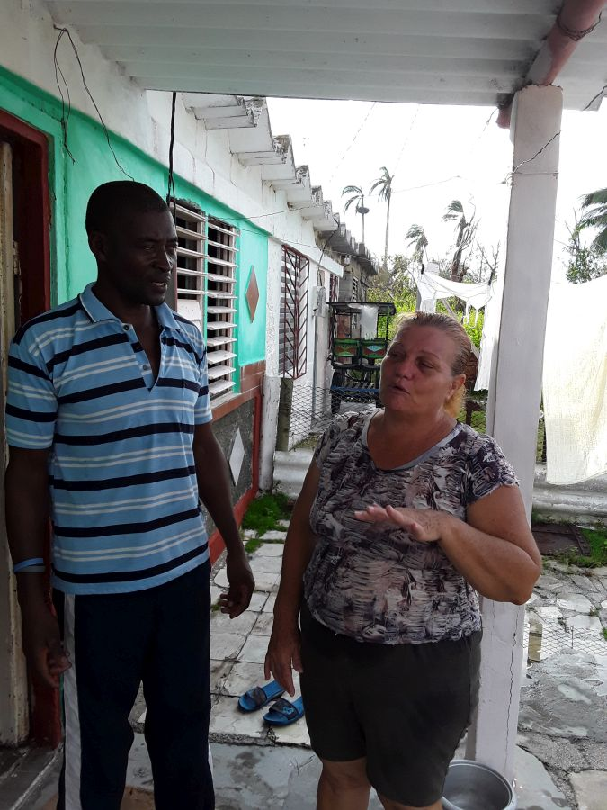 yaguajay, huracan irma, defensa civil vivienda, recuperacion, sancti spiritus
