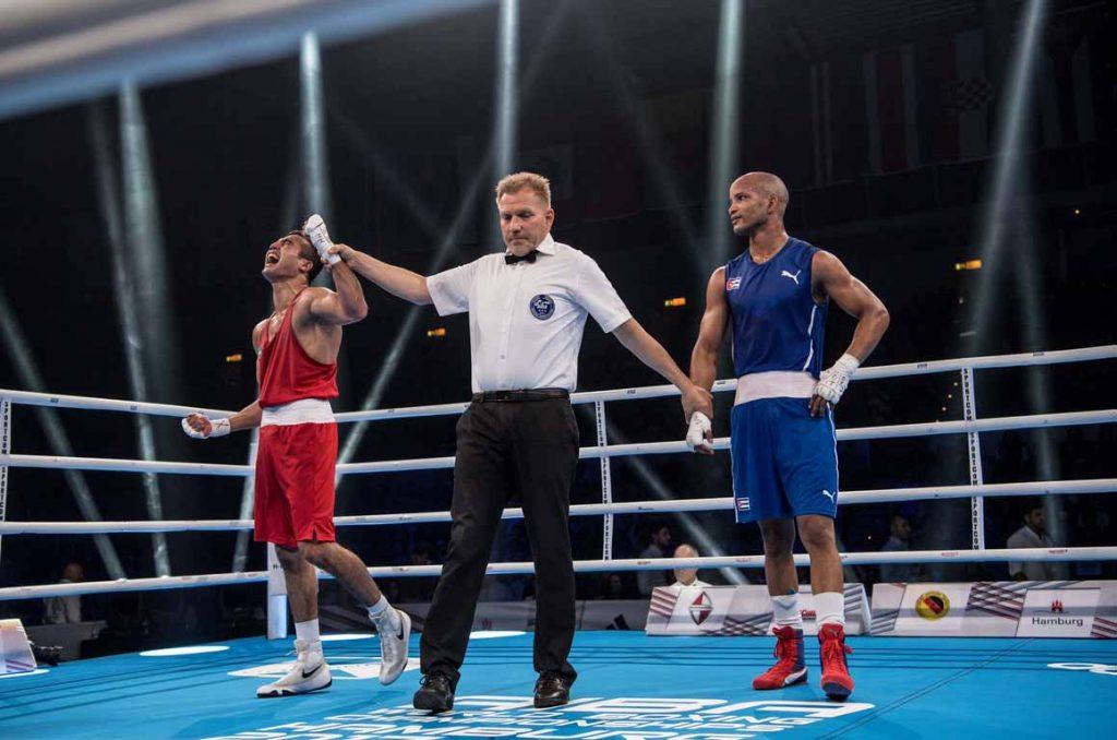 Cuba, boxeo, Roniel Iglesias, Hamburgo 2017