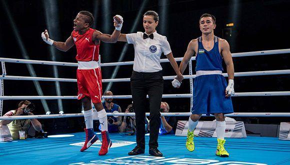 Boxeo Cuba, Mundial Argilagos, Hamburgo 2017