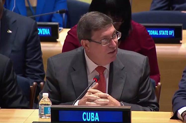 ONU, Cuba, canciller, Bruno Rodríguez, Aamblea General