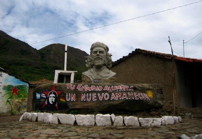 Che Guevara, Bolivia, 50 aniversario, asesinato, La Higuera, ALBA