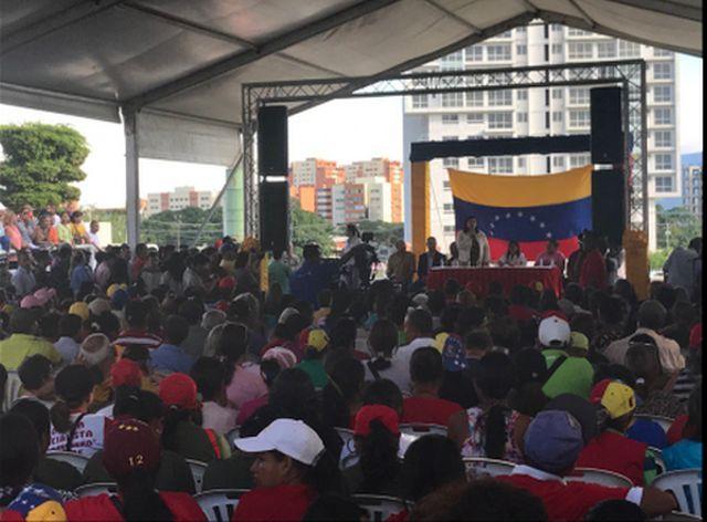 Venezuela, Constituyente, paz, ataque imperial