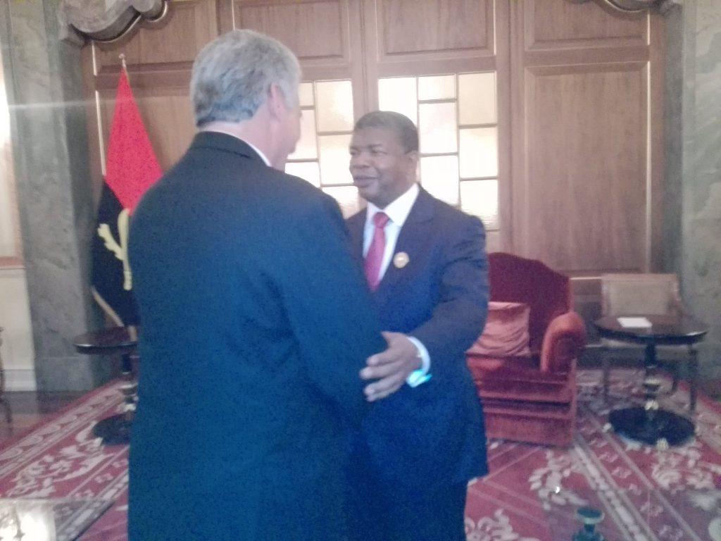 Cuba, Angola, Díaz Canel