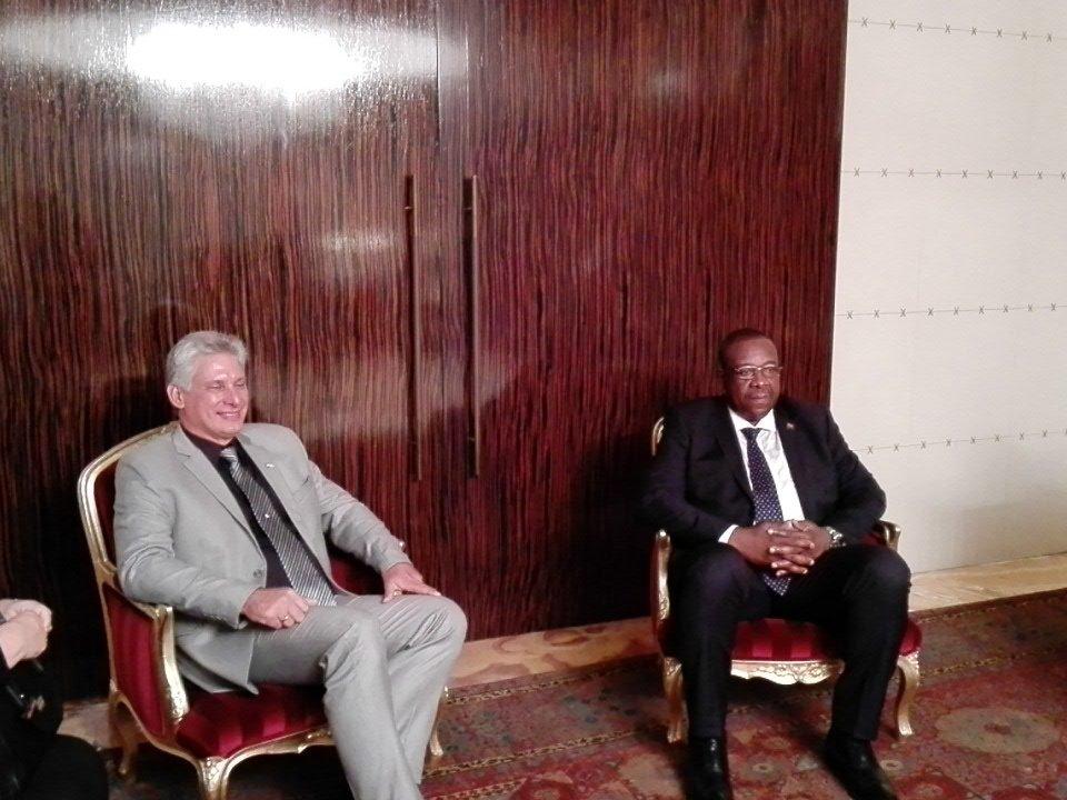 Reitera Miguel Díaz-Canel compromiso de Cuba para apoyar a Angola