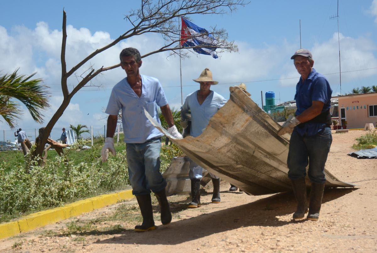 sancti spiritus, huracan irma, yaguajay, porcino, ganaderia, recuperacion