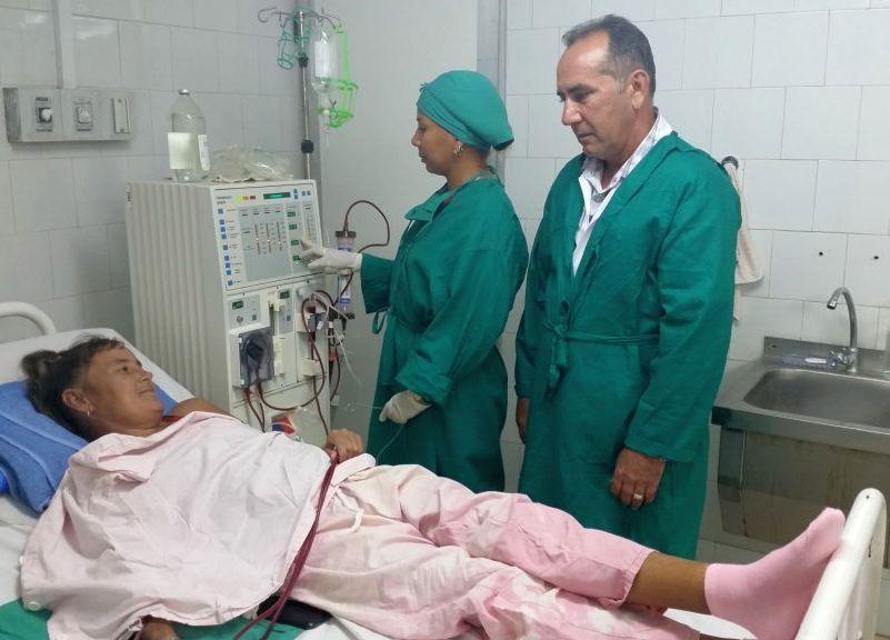 Salud, Hospital Cailo Cienfuegos, hemodiálisis, Sancti Spíritus