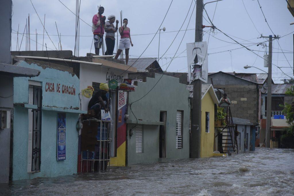 Huracán, Irma, Dominicana, daños