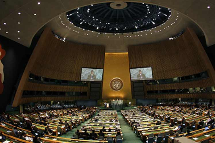 ONU, huracán Irma, Asamblea General