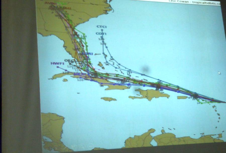 sancti spiritus, defensa civil, huracan irma, meteorologia