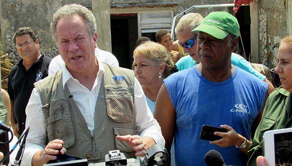 PMA, huracán Irma, Cuba, recuperación