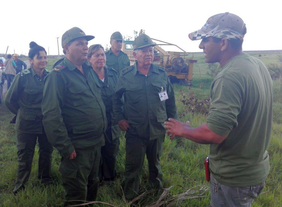 sancti spiritus, yaguajay, huracan irma, defensa civil