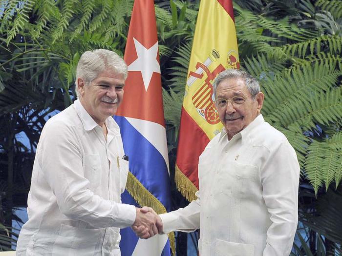 Cuba, España, Raúl Castro, canciller español