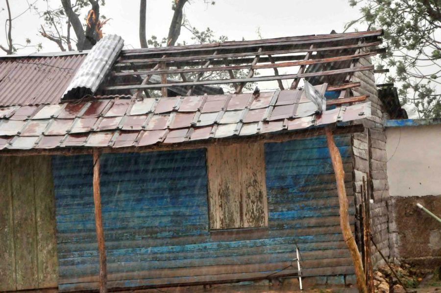 Yaguajay, vivienda, huracán Irma, recuperación