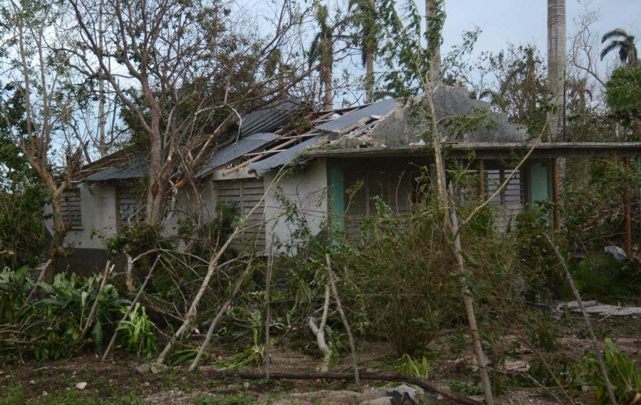 huracán Irma, recuperación, vivienda, Yaguajay, Sancti Spíritus