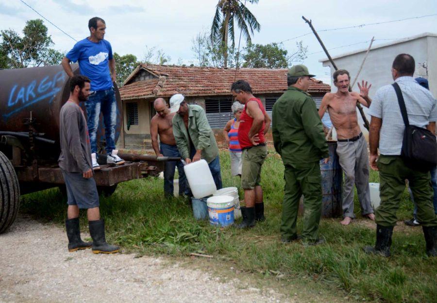 sancti spiritus, yaguajay, huracan irma, defensa civil, intensas lluvias