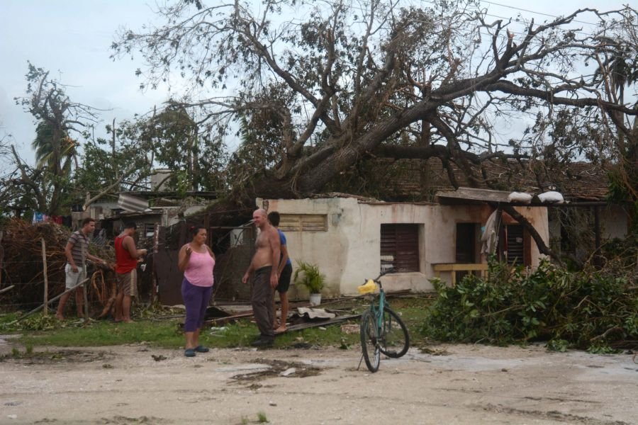 sancti spiritus, huracan irma, viviendas, yaguajay, intensas lluvias, defensa civil