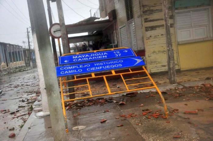 sancti spiritus, yaguajay, huracan irma, intensas lluvias, defensa civil, consejo de defensa