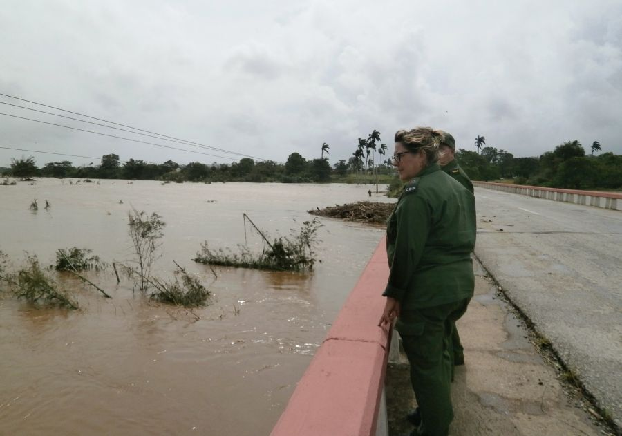 sancti spiritus, huracan irma, intensas lluvias, consejo de defensa, defensa civil