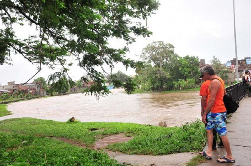 sancti spiritus, huracan irma, intensas lluvias, rio yayabo
