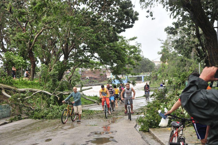 huracan irma, sancti spiritus, yaguajay, defensa civil, intensas lluvias, consejo de defensa