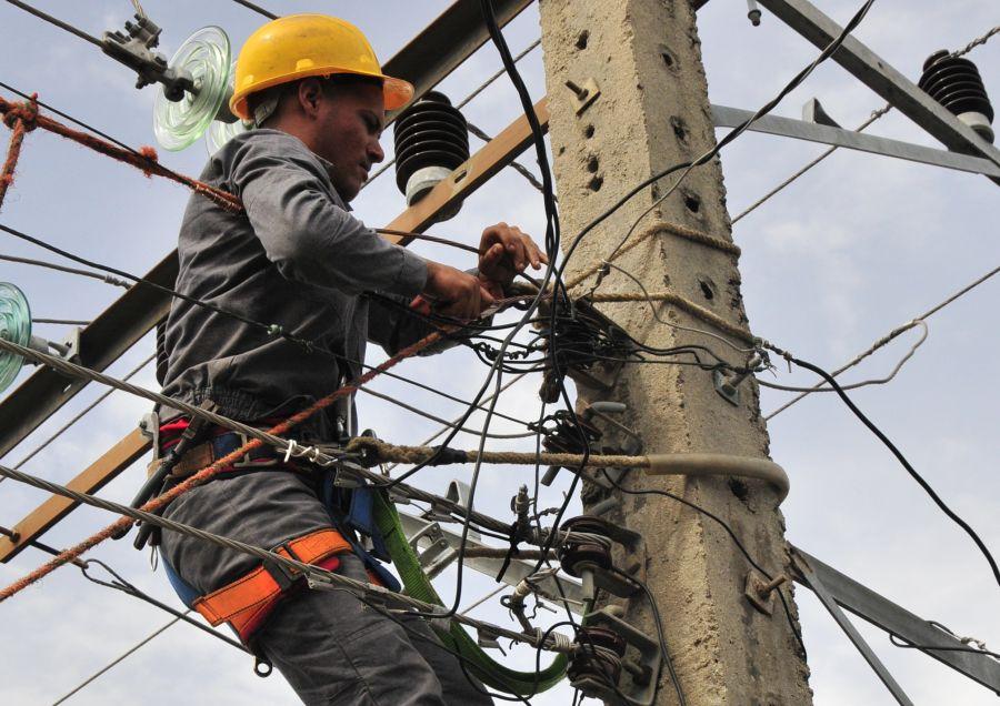 sancti spiritus, electricidad, huracan irma, yaguajay, empresa electrica