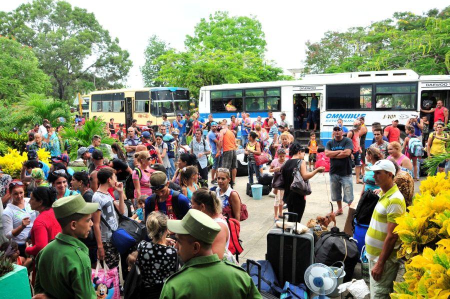 sancti spiritus, huracan irma, evacuados, defensa civil, consejo de defensa, yaguajay