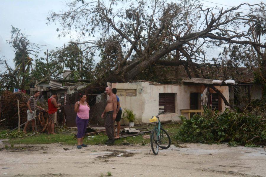sancti spiritus, huracam irma, cabaiguan, defensa civil