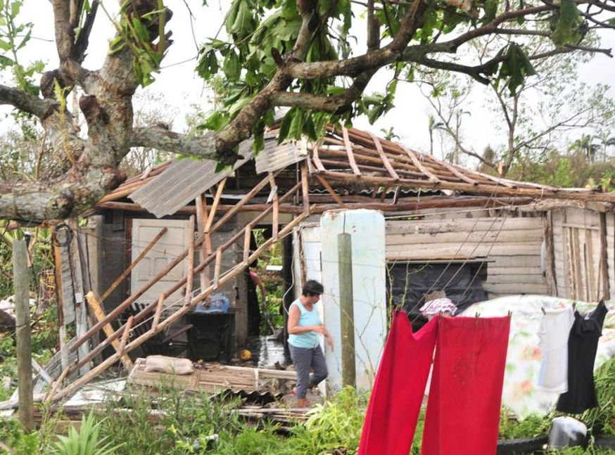 sancti spiritus, huracan irma, defensa civil, yaguajay, consejo de defensa, viviendas
