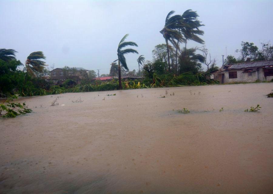 sancti spiritus, huracan irma, yaguajay, inundaciones, intensas lluvias, defensa civil