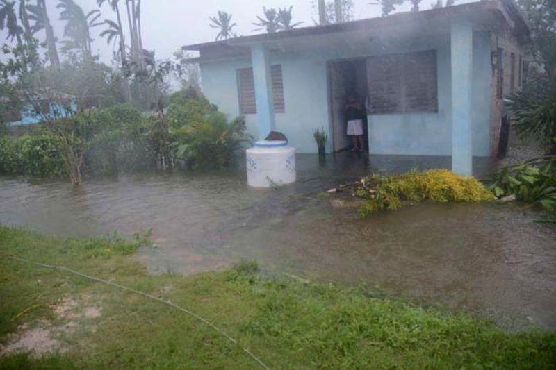sancti spiritus, huracan irma, yaguajay, intensas lluvias, defensa civil